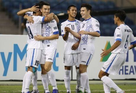 U19 Trung Quoc chia tay VCK U19 chau A, Uzbekitsan vao tu ket - Anh 1