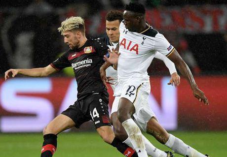 Phung phi co hoi, Leverkusen chia diem tiec nuoi truoc Tottenham - Anh 1