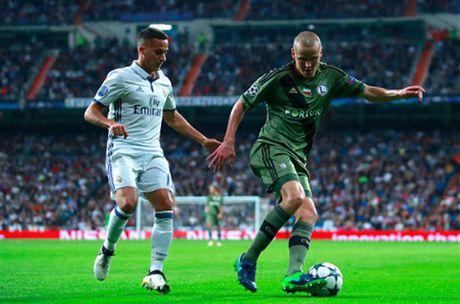 Ronaldo khong ghi ban, Real van de dang 'huy diet' Legia - Anh 1