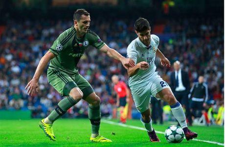 Ronaldo khong ghi ban, Real van de dang 'huy diet' Legia - Anh 4