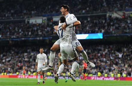 Ronaldo khong ghi ban, Real van de dang 'huy diet' Legia - Anh 5