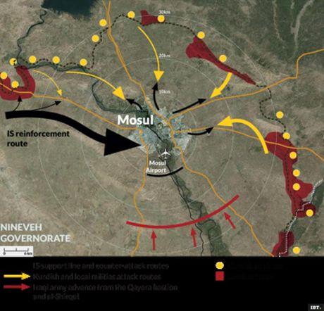 Nga se hanh dong quan su neu IS chay tu Mosul sang Syria - Anh 2