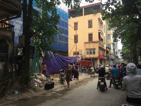 Tam dinh chi thi cong du an Eco Green Tower de dieu tra - Anh 1
