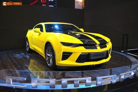 'Xe co bap' Chevrolet Camaro 2017 tien ty cap ben VN - Anh 5