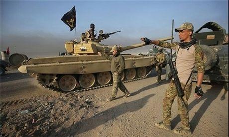 Quan doi Iraq diet chi huy cap cao IS gan 'thu phu' Mosul - Anh 1