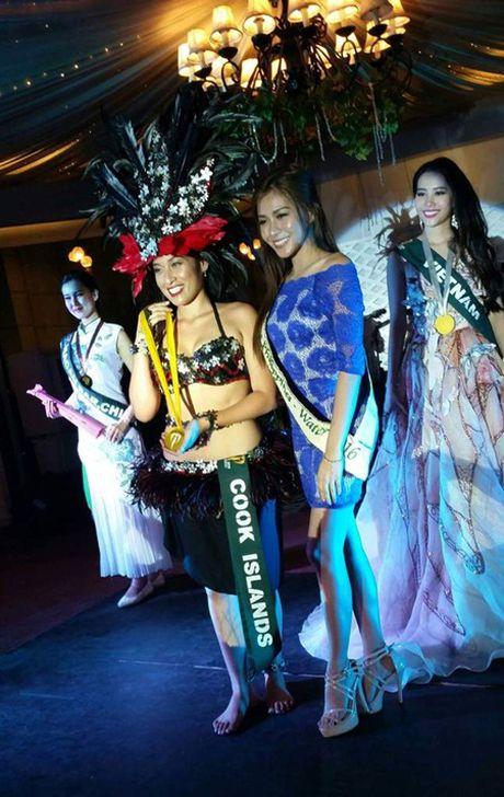 Nam Em doat huy chuong bac trong phan thi tai nang Miss Earth 2016 - Anh 1