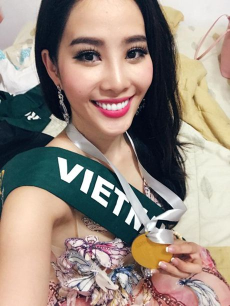 Nam Em doat huy chuong bac trong phan thi tai nang Miss Earth 2016 - Anh 2