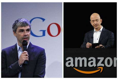 Google, Amazon phan dau len moc 1000 USD/co phieu - Anh 1