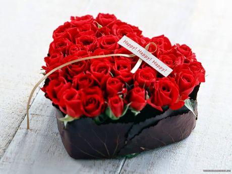Goi y hoa tang nguoi yeu nhan ngay 20/10 - Anh 1