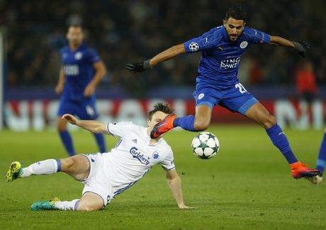 Mahrez toa sang, Leicester tien sat vong knock-out - Anh 5