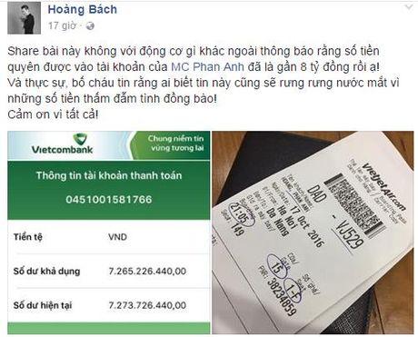 Sao Viet 'rung rung nuoc mat' truoc tam long cua MC Phan Anh - Anh 3