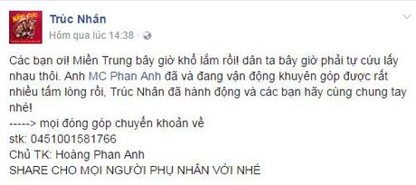 Sao Viet 'rung rung nuoc mat' truoc tam long cua MC Phan Anh - Anh 4
