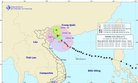 Ngay hom nay bao so 7 do bo dat lien Quang Ninh - Anh 1