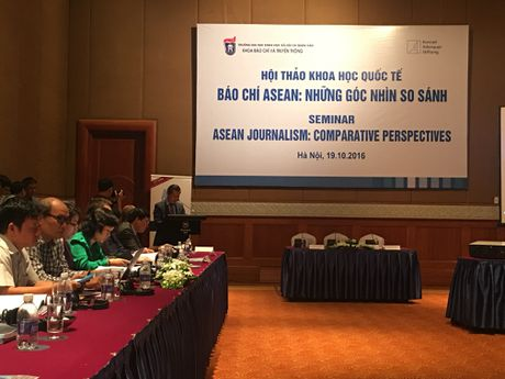 Khai mac hoi thao 'Bao chi ASEAN: Nhung goc nhin so sanh' - Anh 1