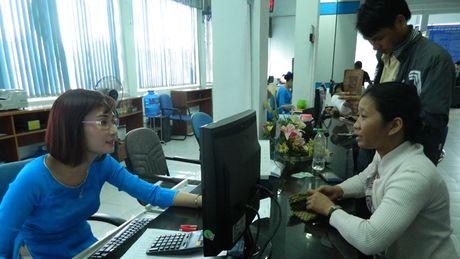 Con 'e' tren 100.000 ve tau Tet Dinh Dau 2017 - Anh 1