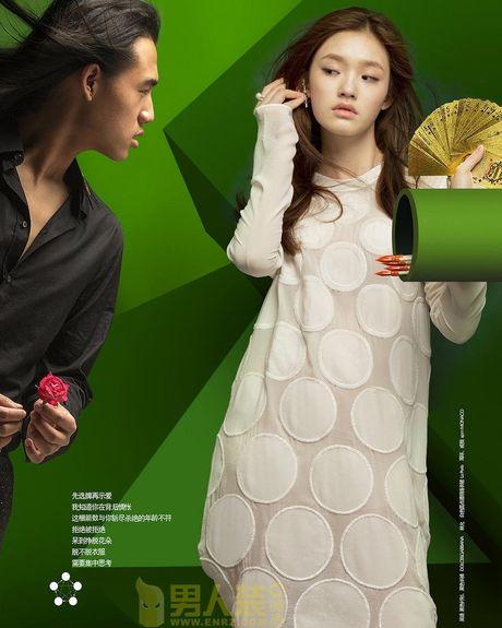 'My nhan ngu' cua Chau Tinh Tri khoe sac voc goi cam - Anh 4