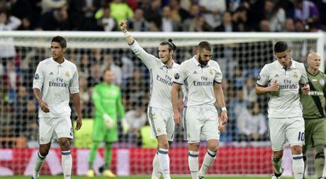 Clip: Ronaldo kien tao, Gareth Bale mo man con mua gon truoc Legia Warsaw - Anh 1