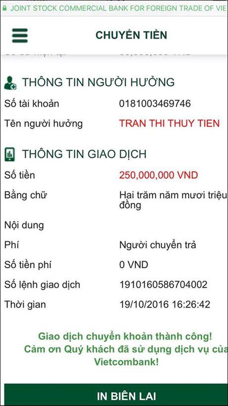 Thuy Tien cong khai so tien ung ho 'khung', chi kem moi Phan Anh - Anh 3