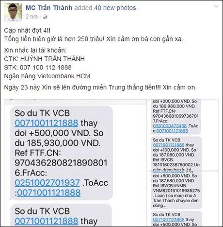 Thuy Tien cong khai so tien ung ho 'khung', chi kem moi Phan Anh - Anh 5