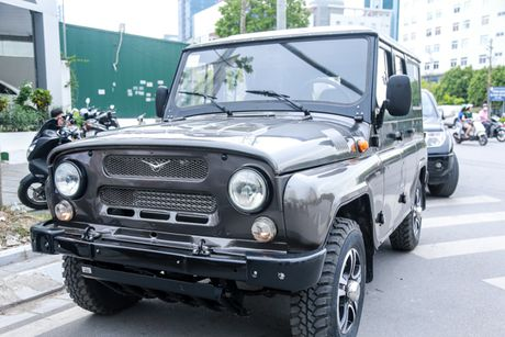 UAZ Hunter: Xe Nga chi danh cho nguoi hoai co - Anh 1