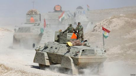 Tran chien Mosul: Luc luong Iraq, Kurd bao thang loi som - Anh 1