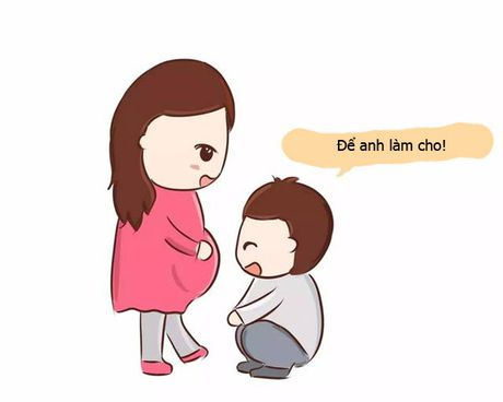 Nhung hanh dong chung to tinh yeu cua chong khi vo mang thai - Anh 6