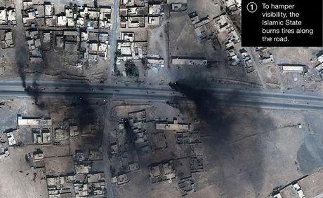 Nghi van IS dung vu khi sinh hoc o mat tran Mosul - Anh 1