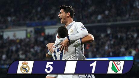 Ronaldo tit ngoi, Real van mo dai tiec tai Bernabeu - Anh 1