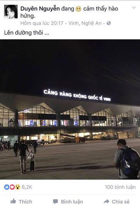 Sau Phan Anh, Ky Duyen am tham ung ho dong bao mien Trung - Anh 2