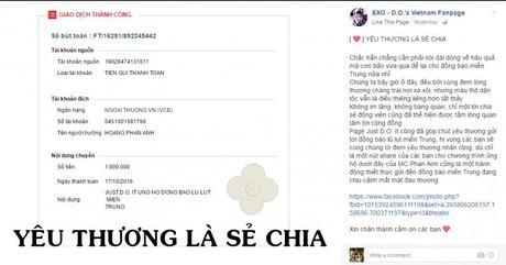 Fans Kpop chung tay ung ho dong bao mien Trung bi lu lut - Anh 2
