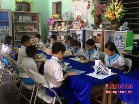 Gan 550 hoc sinh Nghi Loc tham gia ngay hoi doc sach - Anh 2