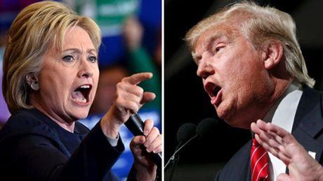 Tranh luan lan ba - co hoi cuoi lat the co cua Trump va Clinton - Anh 1