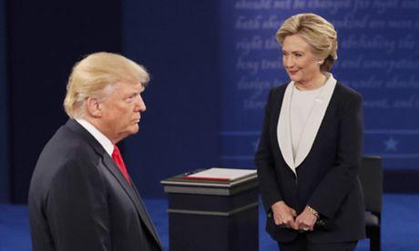 Tranh luan lan ba - co hoi cuoi lat the co cua Trump va Clinton - Anh 3