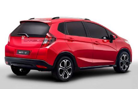 Doi dau Ford EcoSport, Honda he lo WR-V - Anh 2