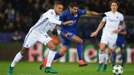 Thang Copenhagen 1 - 0, Leicester 'chem che' ngoi dau bang G - Anh 1