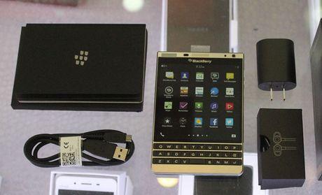 'Hang cuoi vu' Blackberry Passport Silver giam xuong con 6,6 trieu dong - Anh 1