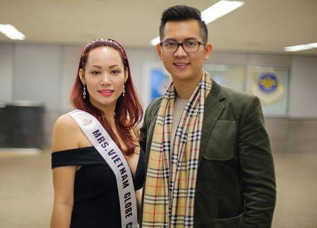 Janny Thuy Tran den My tham du Hoa hau Phu nhan Viet Nam Hoan cau 2016 - Anh 9