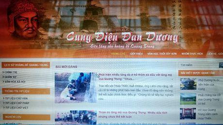 Ra mat website ve vua Quang Trung tren dat Hue - Anh 1