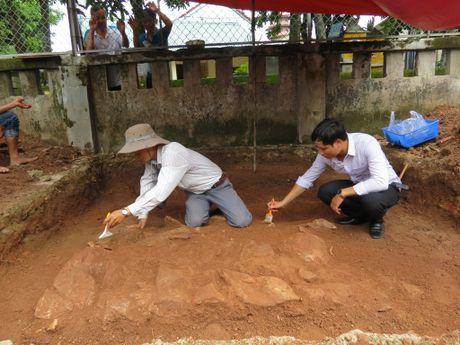 Ket thuc tham do khao co go Duong Xuan - Anh 1