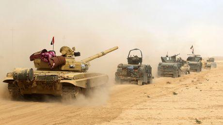 IS co the dung vu khi hoa hoc co thu Mosul - Anh 1