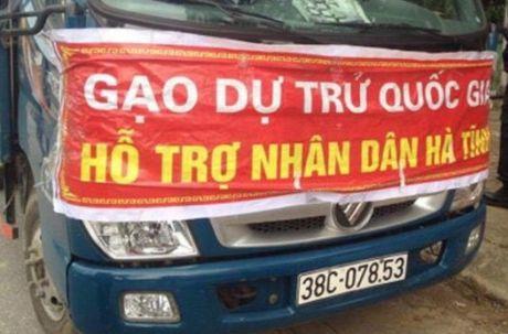 Dieu tra vu nghi ban gao ho tro nguoi dan Ha Tinh - Anh 1