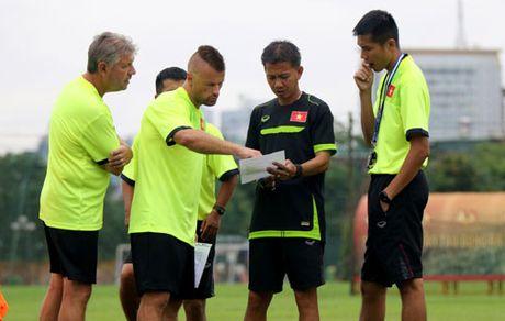 U19 Viet Nam can cai thien diem yeu nao truoc khi gap U18 Iraq? - Anh 1