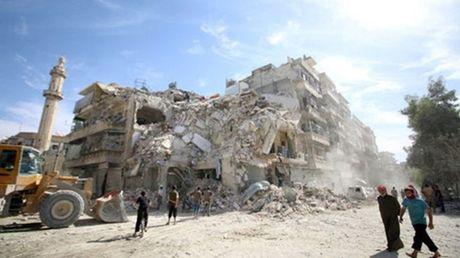 Nga, Syria ngung khong kich o Aleppo - Anh 1