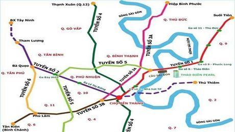 Hon 41.000 ty dong xay dung tuyen metro so 5 o Sai Gon - Anh 1