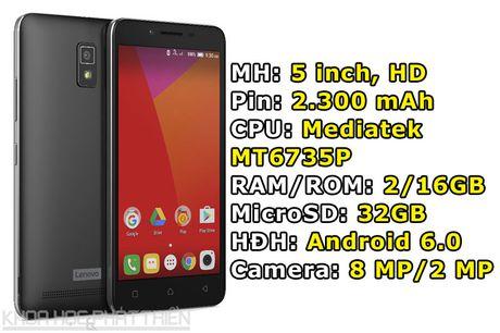 Smartphone Lenovo gia re, ket noi 4G, RAM 2 GB chinh thuc len ke - Anh 1