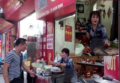 Pho chui noi tieng Nam Dinh: Ban cho cac sep la chinh - Anh 1