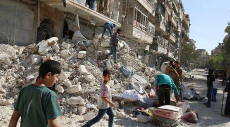 Nga - Syria bat ngo ngung khong kich tai Aleppo - Anh 1