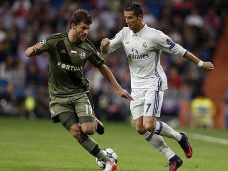 CAP NHAT tin sang 19/10: Ronaldo lo ky luc Champions League. Mourinho bi FA 'so gay' - Anh 2