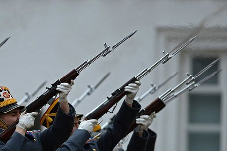 An tuong nghi thuc doi ca gac cua trung doan ve binh Kremlin - Anh 5