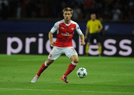 Doi hinh toi uu de Arsenal 'bat nat' Ludogorets - Anh 5